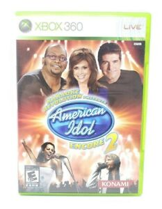 Karaoke-Revolution-Presents-American-Idol-Encore-2-Microsoft-Xbox-360-X360-Game