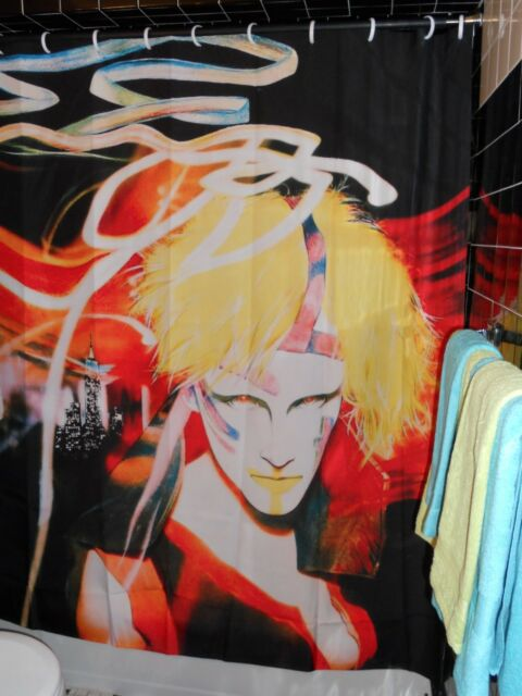 Liquid Sky  Shower Curtain  Aliens NYC Downtown  80's Danceteria