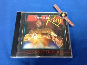 Donnie-Ray-Let-039-s-Go-Dancing-CD-2003-USED-Soul-R-amp-B-Susie-Q-Piranha-Records