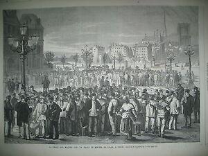 FOIRE-AUX-MAcONS-PLACE-HOTEL-DE-VILLE-LE-NOUVEAU-LOUVRE-ROI-EGYPTE-GRAVURES-1869