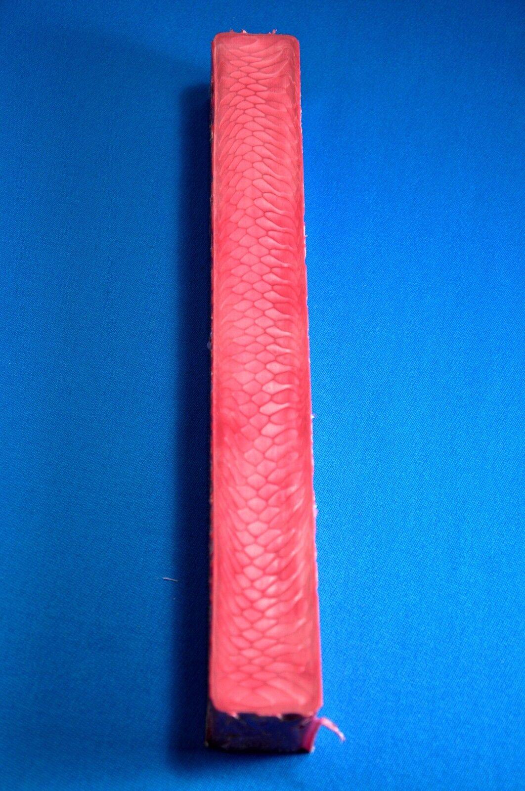 1 EXOTIC JUMA PINK DRAGON 12  X 1.45  SQUARE POOL BILLIARD CUE BUTT MATERIAL