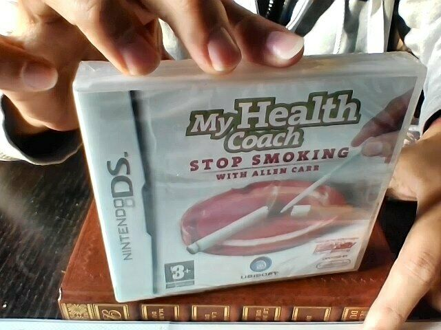 My Health Coach: Stop Smoking With Allen Carr (Nintendo DS) (Nintendo DS, 2008)