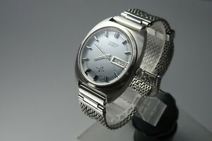OH-Vintage-1971-JAPAN-SEIKO-LORD-MATIC-WEEKDATER-5606-7140-25Jewels-Automatic