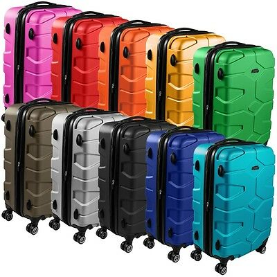 Reisekoffer Trolley Kofferset Hartschalenkoffer Koffer Hartschale Shaik SH002