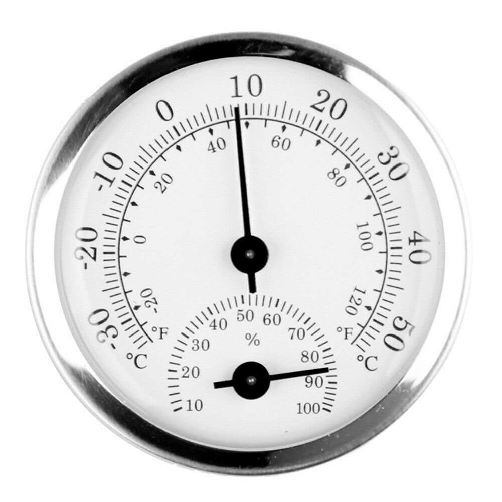 Mini Household Wall-Mounted Temperature Humidity-Meter Hygrometer Measuring-Tool