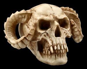 Skull-Horned-Devil-Gothic-Daemon-Skull-Deco-Statue-Halloween