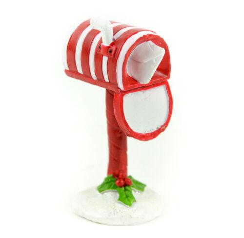 Candy Cane Mail Box Fairy Garden Christmas Miniature