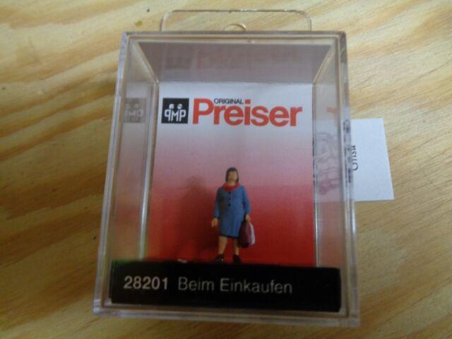 H0 Preiser 28201 la Einkaufen. Figure. Emballage D'Origine