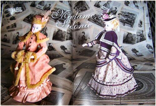 "Gildebrief 4-2009 Smiling Bru /""Madame Sidonie/"" Father Xmas The Moon Pincushion"
