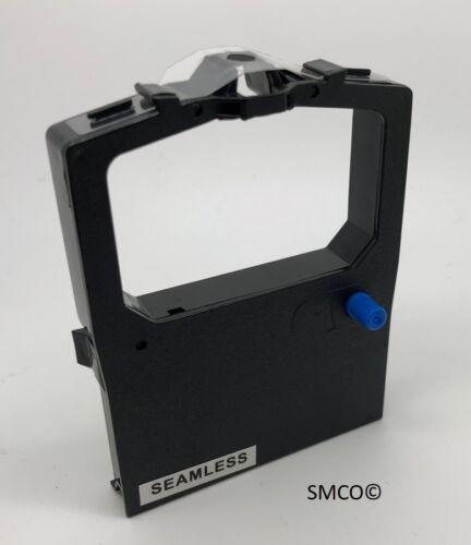 ref F55829 NASTRO COMPATIBILE SmCo tessuto nylon Nero OKI 09002316 equivalente
