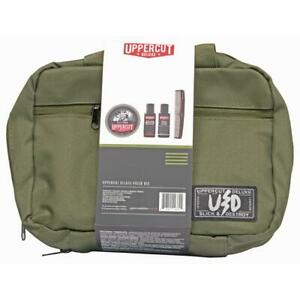 Uppercut-Deluxe-Field-Kit-Matte-Pomade-Shampoo-Body-Wash-Comb-Bag-UK-STOCKIST
