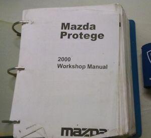 2000 mazda protege service shop repair manual ebay rh ebay com 2000 mazda miata repair manual 2000 mazda miata repair manual