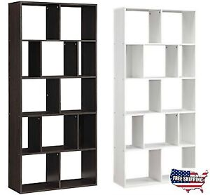 Attractive Image Is Loading 12 Shelf Bookcase Bookshelf Storage Wall Rack Organizer