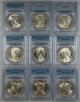 1923 Silver Peace Dollar Coin $1 PCGS MS-63 From Lot *Must Read Description*