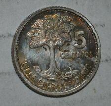 Centavos de  Quetzal Guatemala 5-10- 25-50-1- 5 Pcs Coin Set-Mint-UNC