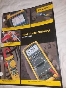Details about FLUKE Instrumentation Test Tools Catalog    2005 / 2006