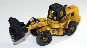 JCB-or-Cat-Type-Wheeled-Hi-Lift-Loader-E55-UNPAINTED-N-Gauge-Scale-Models-Kit