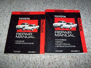 1990 toyota pickup truck shop service repair manual 4wd ebay rh ebay com Toyota Pickup Fuse Box Diagram Toyota Pickup Subwoofer