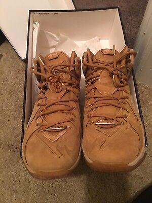 info for c6fdd 64021 Nike LeBron 12 Wheat | eBay