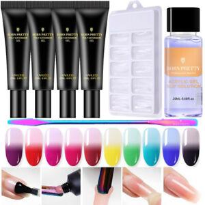 BORN-PRETTY-20ml-Building-UV-Nail-Gel-Slip-Solution-Brush-Mold-Tips-Extension