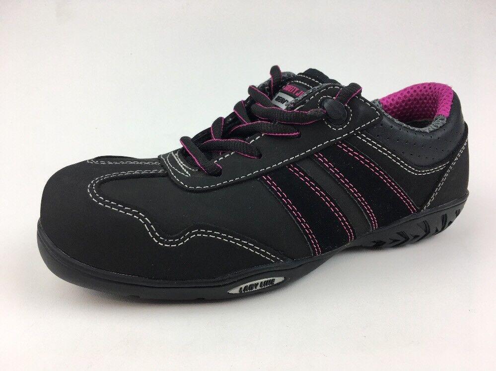 Zapatos seguridad Jogger Ceres De Seguridad-Negro para para para Mujer Talla 7 - 177  muchas sorpresas