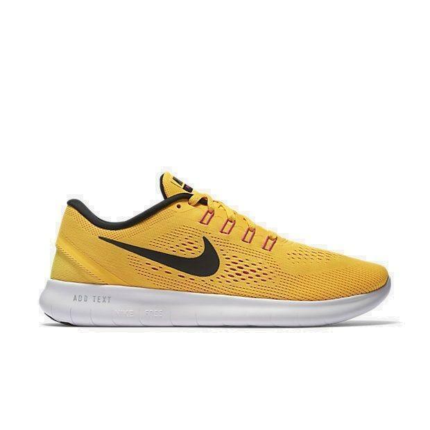 Da Donna Nike Free RN Laser Arancione Scarpe Da Ginnastica In Esecuzione 831509 8009