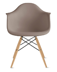 Stupendous Details About Authentic Herman Miller Eames Molded Plastic Armchair Design Within Reach Uwap Interior Chair Design Uwaporg