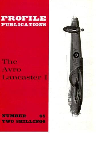4 A3 FOLDOUTS// DOWNLOAD PROFILE #65// 22 PAGES AVRO LANCASTER I