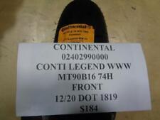 Front Tire MT 90 B 16 M//C 74H TL Continental Legend WW REINF