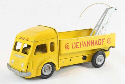 Ancien Camion Toy Antique Renault Cij Jouet SSwPf