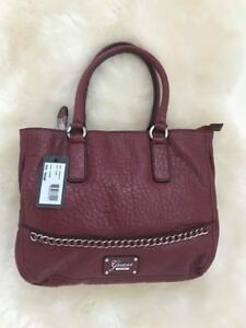 Guess-VY490706-Corena-Ruby-Handbags-Satchel-Embossed-Animal-Print-Pattern