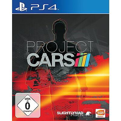 Project Cars (Sony PlayStation 4, 2015, DVD-Box) NEU OVP
