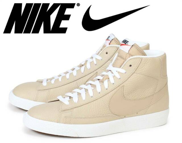 official photos 35a60 19c0a Nike Blazer Mid Premium Linen Retro Leather Basketball ...