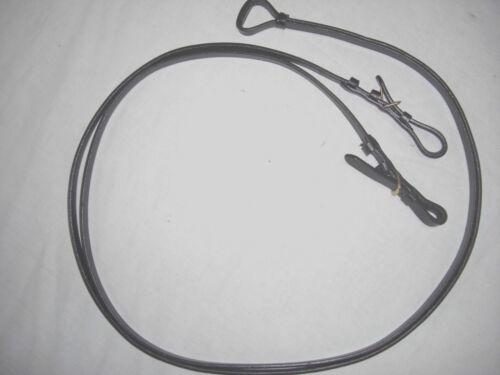 Lederzügel Kandarenzügel  aus glattem weichem Qualitätsleder mit Schnallen