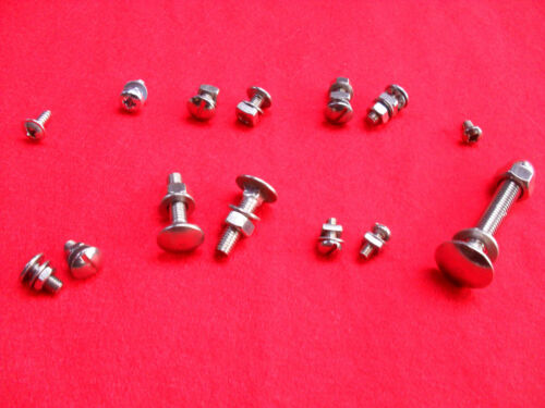 RALEIGH CHOPPER MK I /& II NUT /& BOLT SET IN STAINLESS STEEL NO RUST ANY MORE *