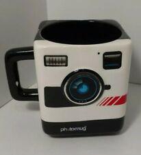 Retro Camera M12002 Mustard Tea Coffee Mug Cup