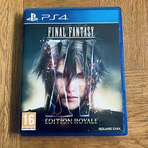 Final Fantasy XV 15 édition royale PS4 PAL FR jeu Playstation 4 - envoi Suivi
