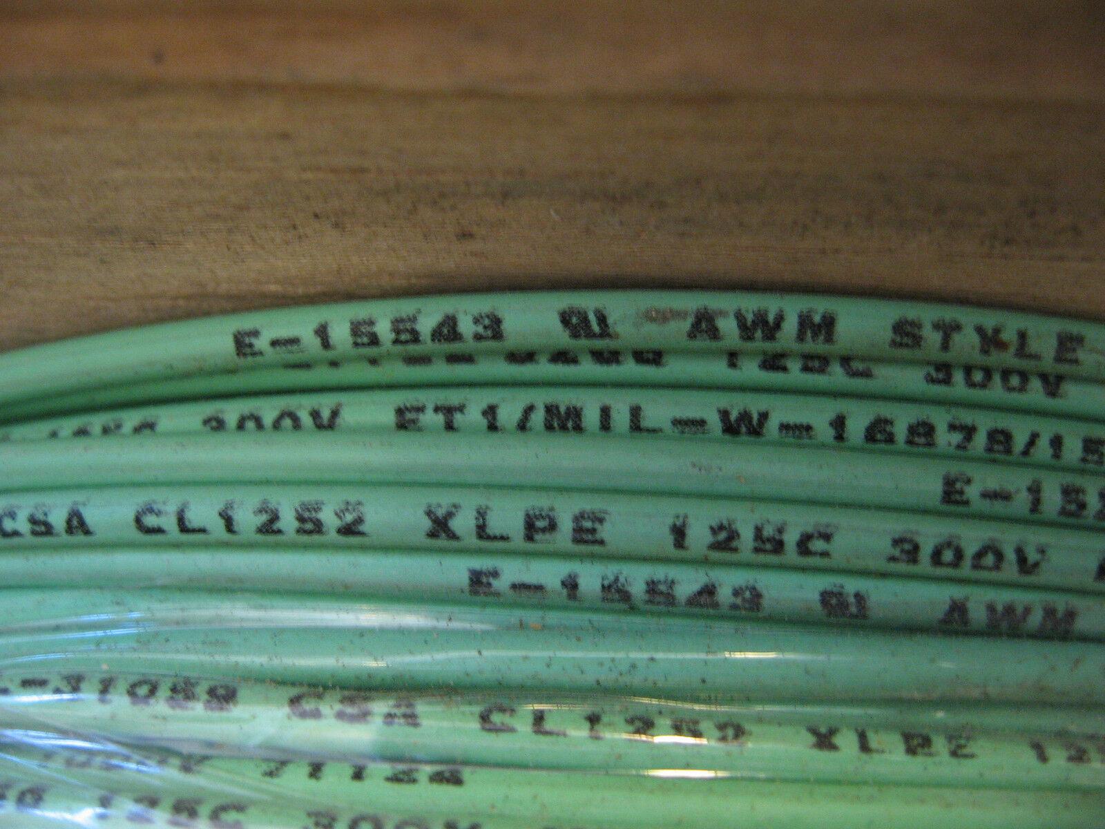 Cable de conexión 3266, 14 AWG AWM 125 pies) C 300 V VW-1/LL-31059 (2000 pies) 125 MIL-16878/15 8a7618