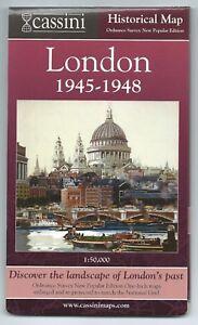 LONDON-1945-48-Historical-Ordnance-Survey-Map-Cassini-Publisher-reproduction