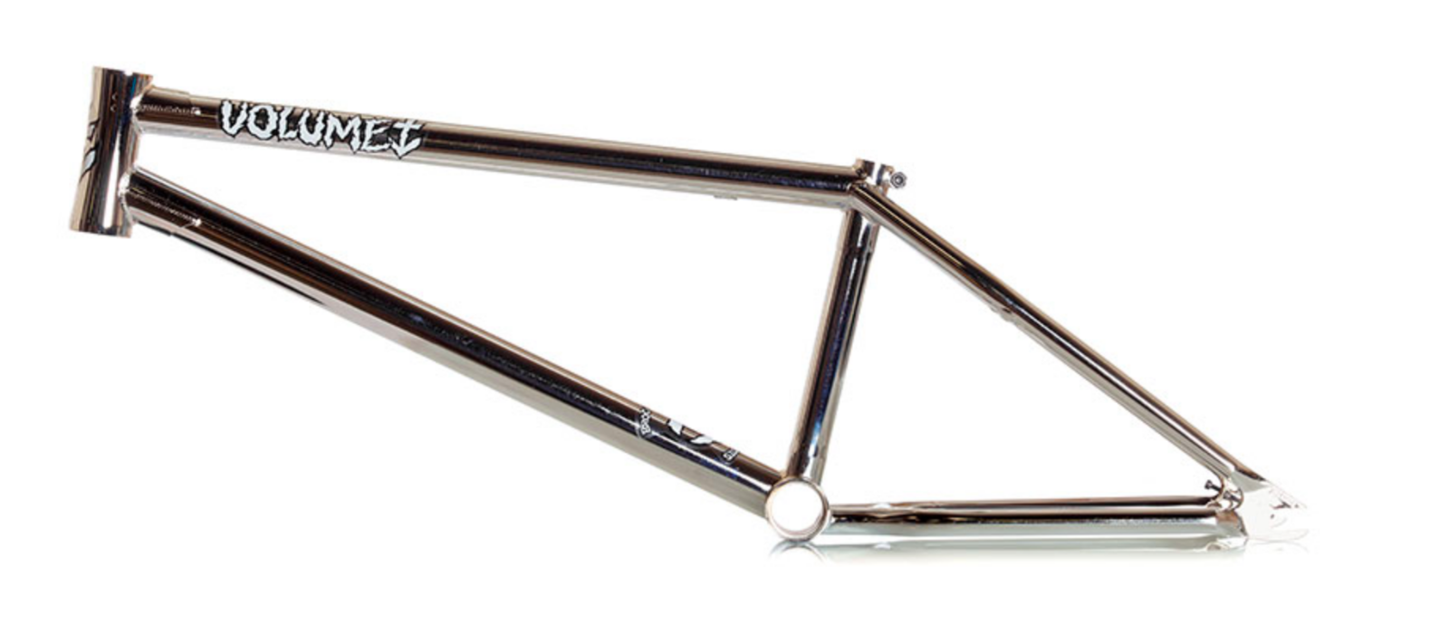 VOLUME BIKES VESSEL BMX FRAME 21.25 CHROME BROC RAIFORD BIKE 21.25 S&M FIT