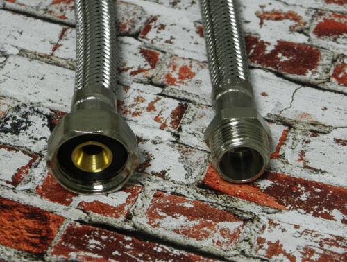 1000 mm Sanitär 900 FLEXSCHLAUCH PANZERSCHLAUCH AG3//8-IG1//2 800