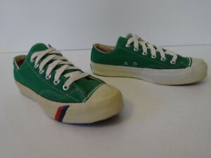 9b218535e8c8d Details about Vintage OG 70s PRO KEDS Royal Lo Green Canvas Shoes Sneakers  Mens 6.5 Deadstock