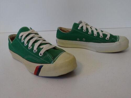 Vintage OG 70s PRO KEDS Royal Lo Green Canvas Shoe