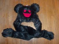 Deadmau5 Day Glo Black Snood Laplander Hat/cap Officially Licensed