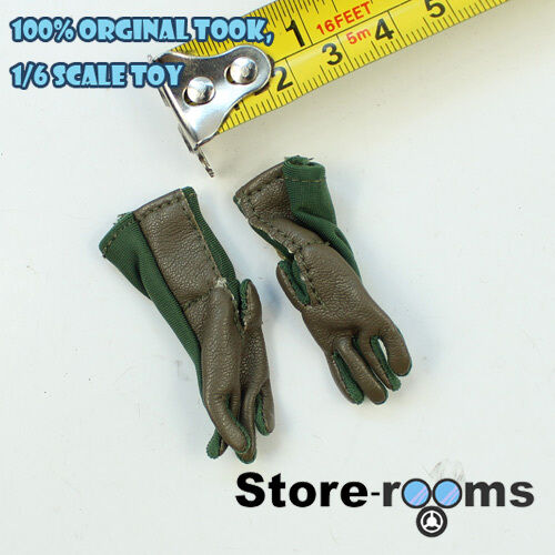 TC43-04 1//6 Toy Soldier Tactical Gloves OD