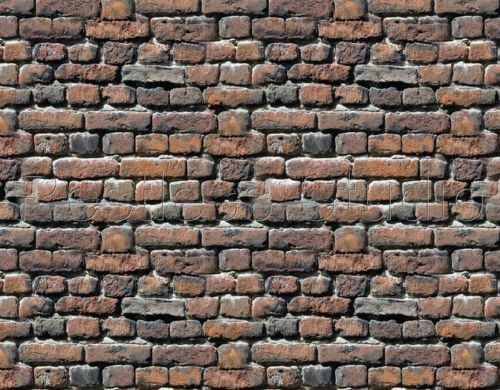 2 sheets 124 Scale 210x290x1MM Bumpy Brick Self Adhesive 3D Look Feel #7