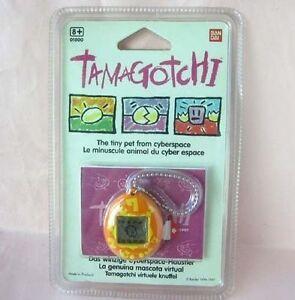 *SEALED NEW* 1997 BANDAI TAMAGOTCHI EUROPEAN ENGLISH VIRTUAL PET ELECTRONIC GAME
