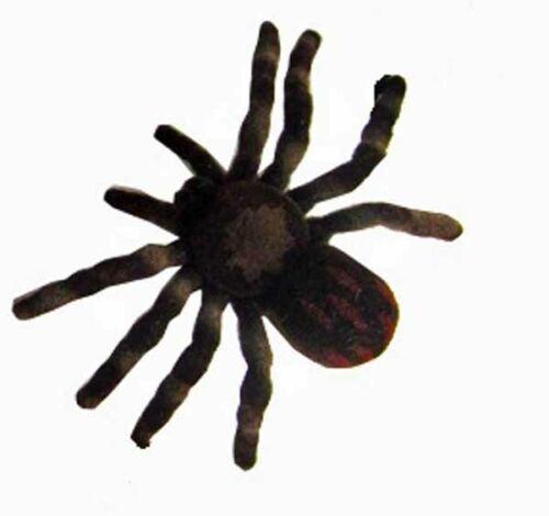 49465 03 Fliska Spinne Halloween Deko Spaß Party Vogelspinne Ungeziefer 4-8 cm