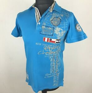 sale uk new photos dirt cheap Details about Very Rare Camp David Polo Shirt Men's Size M South America  Flags Limited Edition