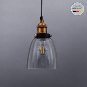 Retro-Deckenlampe-Vintage-Leuchte-Pendelleuchte-Haengelampe-Industrie-Design-230V